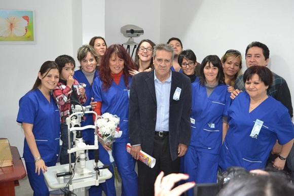 La primera planta del Centro tiene las condiciones necesarias para las operaciones oftalmológicas.
