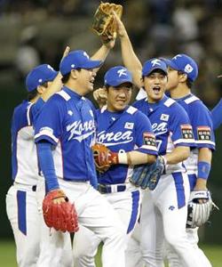 La Selección de Corea del Sur celebra. (Foto: AP)