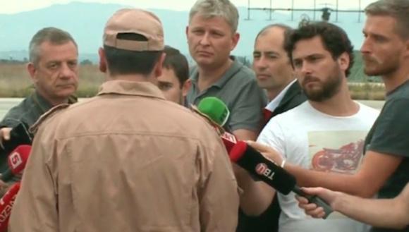 Declaraciones del piloto ruso. Foto: TelesurTV