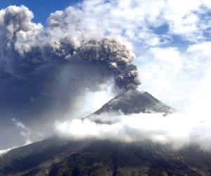 Volcán Tungurahua en Ecuador. (Foto: Archivo)