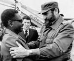 Fidel Castro y Agostinho Neto.