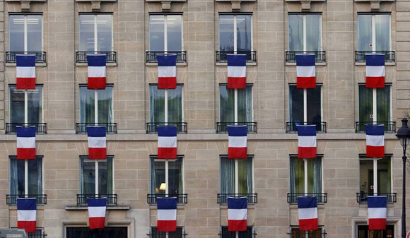 Homenaje Nacional por las víctimas del 13N. Foto: Reuters.
