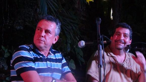 """El """"agente secreto"""" Enrique Segura, realmente Juan Miguel Cruz, en La pupila asombrada."""