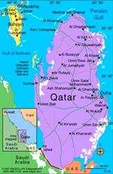 mapa qatar 1