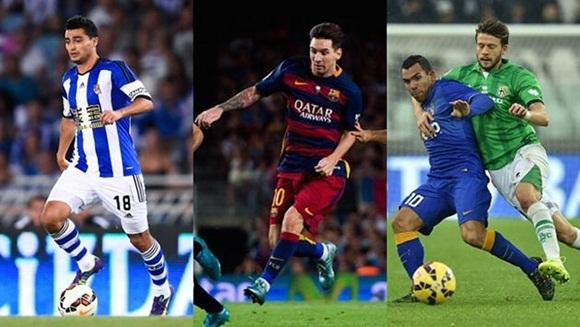 mejores goleadores del año