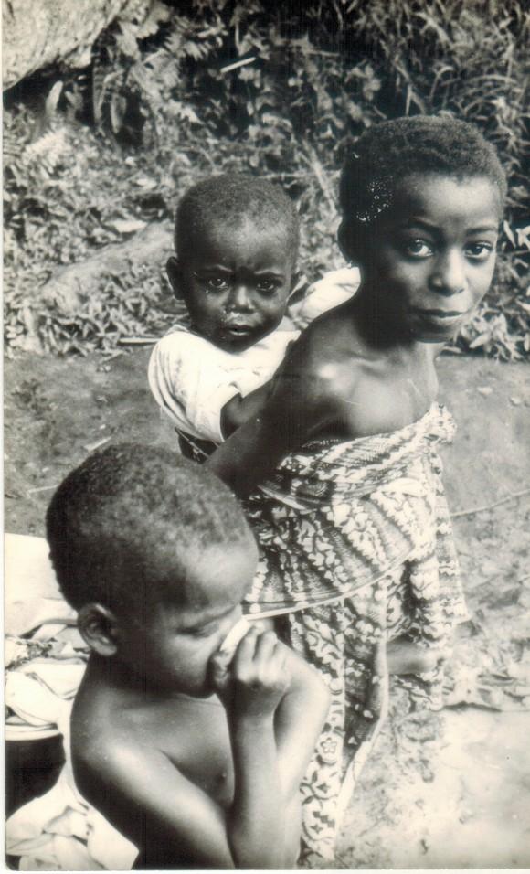 Niños angolanos. Foto: Archivo de la Autora
