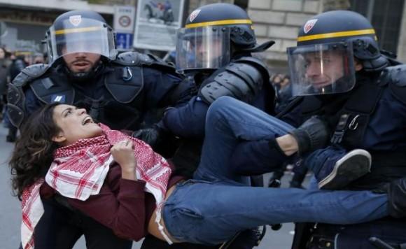 El ministerio del Interior señaló que 200 personas han sido detenidas durante las manifestaciones.