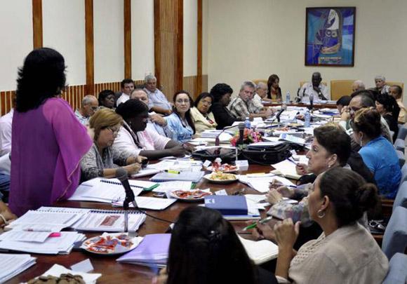 Presidentes provinciales del Poder Popular se reunieron en La Habana. Foto: Tony Hernández.