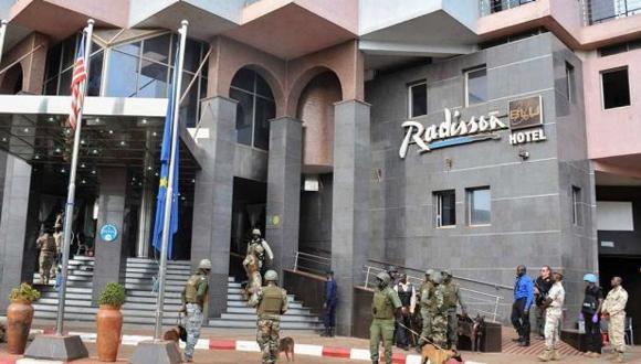 El asalto al hotel Blu Radisson fue reivindicado por dos grupos yihadistas activos en el Sahel. (Foto: EFE)