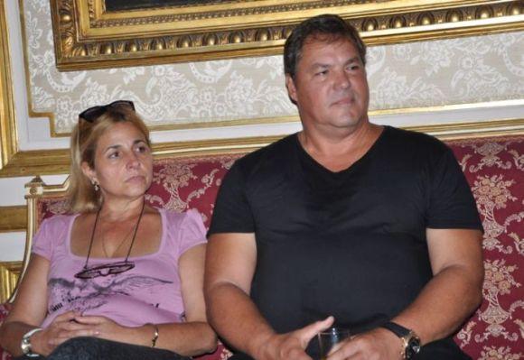 Ramón y Elizabeth se casaron el 2 de junio de 1990. Foto: Vicente Brito.