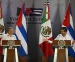 Enrique Pena Nieto, Raul Castro