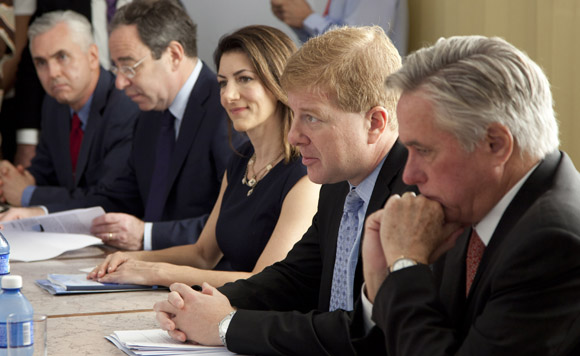 Reunión del Consejo de Negocios Cuba-Estados Unidos. Foto: Ismael Francisco/ Cubadebate.