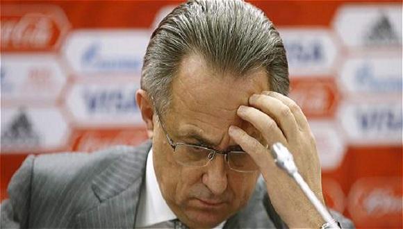 Vitali Mutkó, ministro de Deportes de Rusia. Foto: Reuters.