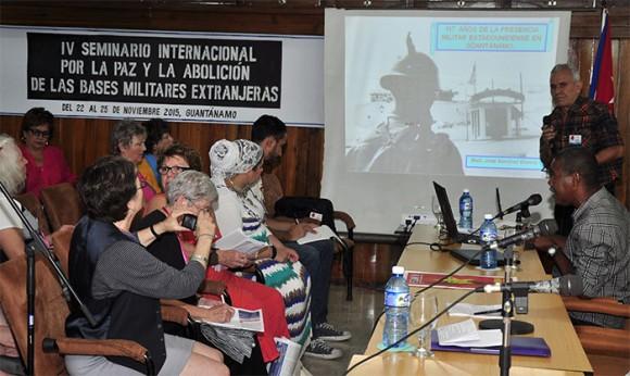 Las jornadas han estado marcadas por el reclamo de devolución del territorio ocupado por la base naval en Guantánamo.