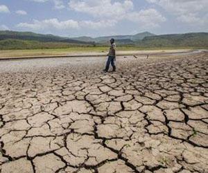 Occidente es la región más afectada por la escaces de lluvias. Foto. EFE