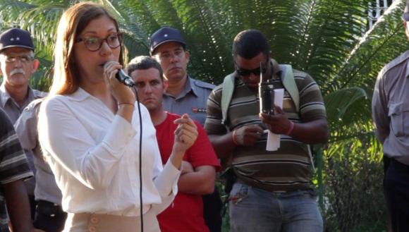 Soraya Encalada, cónsul de Ecuador en Cuba. Foto: David Vázquez/ Resumen Latinoamericano