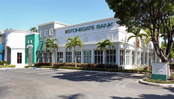 Sede del Stonegate Bank en la Florida. Foto: Archivo.