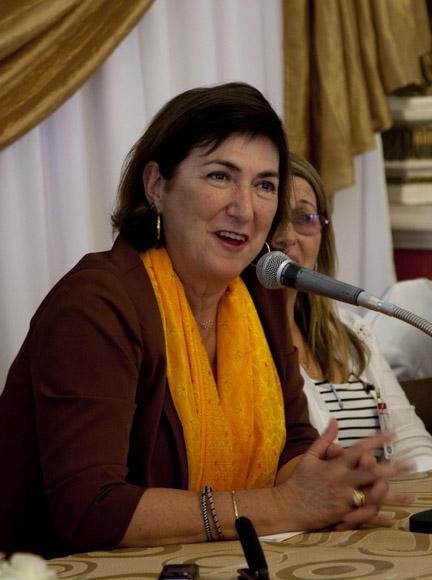 Marisol Casado, desde 2009 presidenta de la Unión Internacional de Triatlón. Foto: Ismael Francisco/Cubadebate