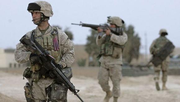 Efectivos del ejército estadounidense en Siria. (Foto: Archivo).