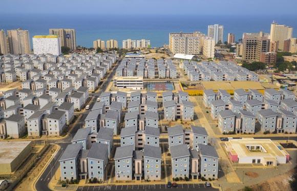 Uno de los barrios de la Gran Misión Vivienda Venezuela, que lleva ya casi un millón de casas entregadas en todo el país y la meta es alcanzar las 3 millones.
