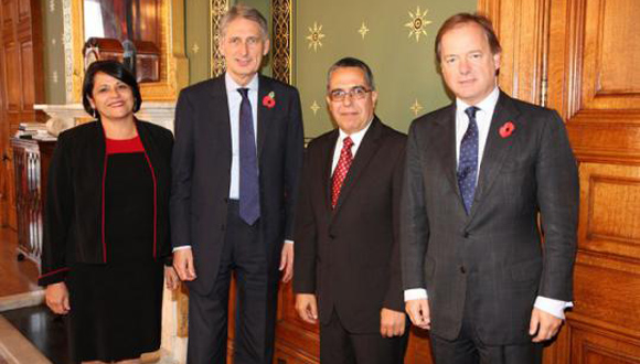 Viceministro primero de Relaciones Exteriores de Cuba discute en Reino Unido agenda presente y futura