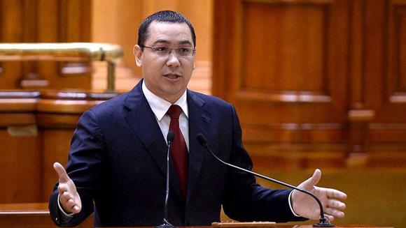 Primer Ministro de Rumanía, Víctor Ponta, renuncia a su cargo. Foto: Reuters.
