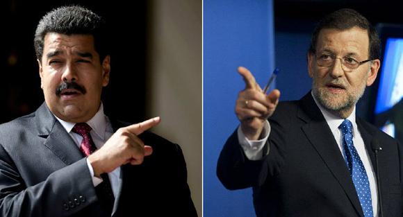 """""""¡Go home, Rajoy!"""", ironizó Maduro el viernes."""
