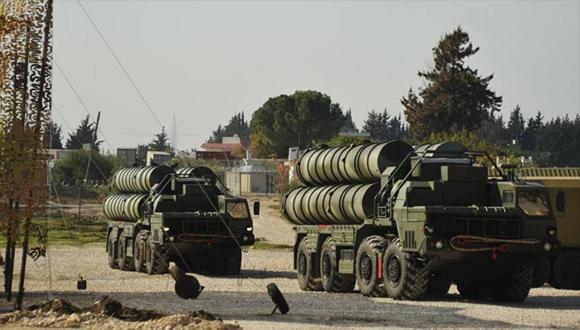 Sofisticado sistema S-400 de fabricación rusa desplegado en Siria. (Foto: HispanTV)