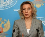 Maria Zakharova, portavoz del ministerio ruso de  Relaciones Exteriores. (Foto: Sputnik)