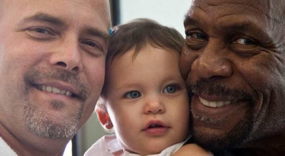 Gerardo, Gema y Danny Glover, La Habana, diciembre 2015. Foto: Ismael Francisco