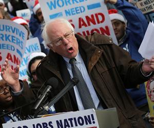 Bernie Sanders, uno de los más populares candidatos demócratas a la presidencia de los EEUU. (Foto: Win McNamee/Getty)