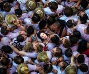 6 de julio, juerguistas disfrutan el día de apertura de la fiesta de San Fermín en Pamplona, España. Foto: David Ramos/Getty Images.