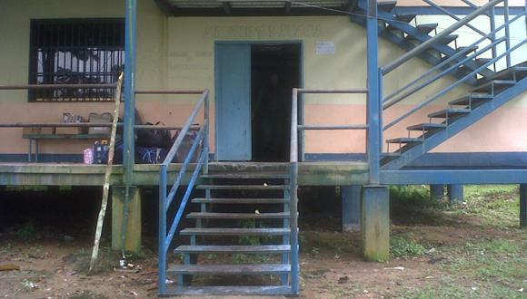Ambulatorio Mavaca, comunidad apartada de Alto Orinoco.