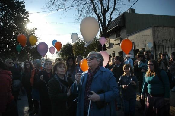 Chicha Mariani en el cumpleaños 32 de Clara Anahí. Foto: Facebook Chicha Mariani.