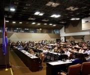 Conferencia de Ramón Zallo. Foto José Raúl Concepción
