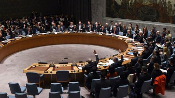 El Consejo de Seguridad de la ONU aprobó la resolución por unanimidad. Foto: AFP.