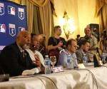 De izq a der. Tony Clark, Dave Winfield, Joe Torres y Dan Hallen. Foto: José Raúl Concepción/Cubadebate.