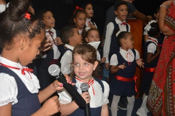 El coro infantil