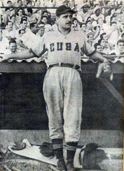 El lanzador Pedro (Natilla) Jimenez