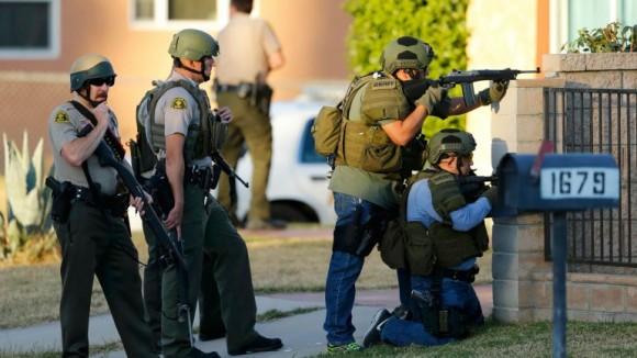 El tiroteo Foto: Reuters