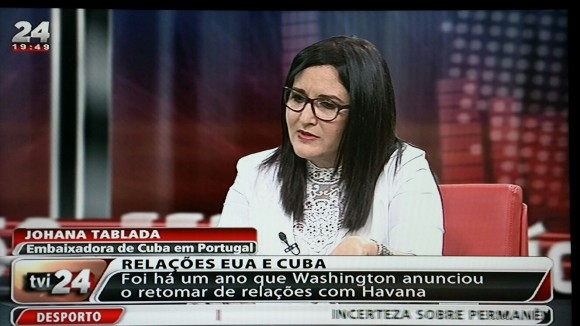 Embajadora Portugal