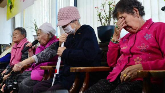 En la actualidad solamente quedan vivas 46 de las más de 200.000 convertidas en esclavas sexuales de los soldados japoneses durante la Segunda Guerra Mundial. Foto: Reuters.