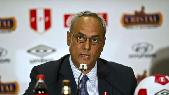Manuel Burga, ex presidente del fútbol en Perú. Foto: Tomada de www.t13.cl