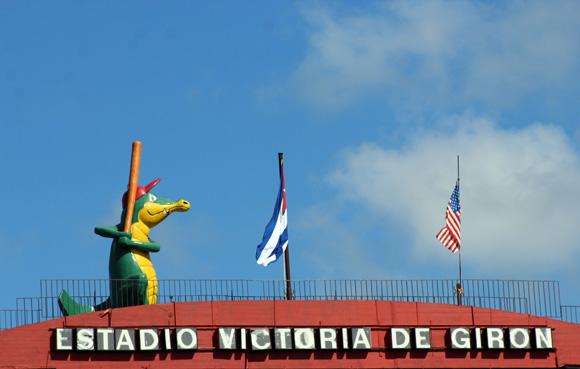 El Victoria de Girón recibió a la delegación de Grandes Ligas. Foto: José Raúl Concepción/Cubadebate.