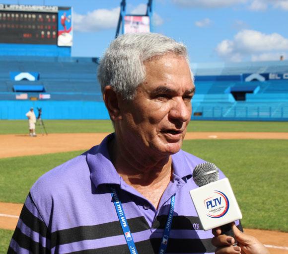 Higinio Vélez durante entrevista a Prensa Latina