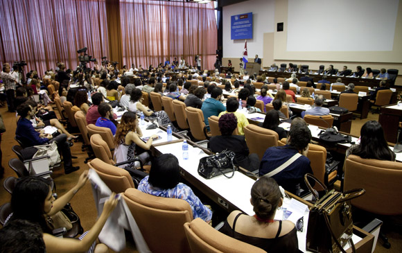 ICOM reunió a más de 600 participantes de una veintena de países. Foto: Cubadebate/ Ismael Francisco.