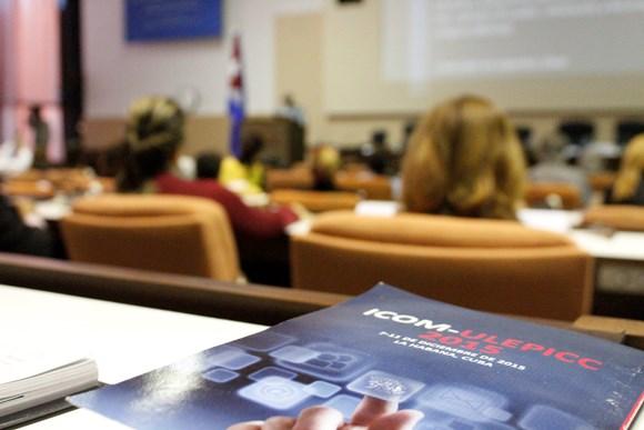 ICOM-2015 sesionará en el Palacio de las Convenciones hasta el próximo viernes 11 de diciembre. Foto José Raúl Concepción