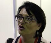 Dra. María Rebeca Padilla (México). Foto: Jennifer Veliz.