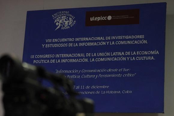 El VIII Encuentro de ICOM y el IX Congreso de ULEPICC gueron celebrados de conjuno en La Habana entre el 7 y el 11 del presente mes. Foto: José Raúl Concepción/Cubadebate.