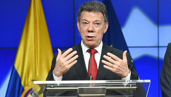 """""""El país ya está sintiendo lo que puede ser la paz"""", declaró recientemente el presidente colombiano. Foto: Tomada de The Telegraph"""